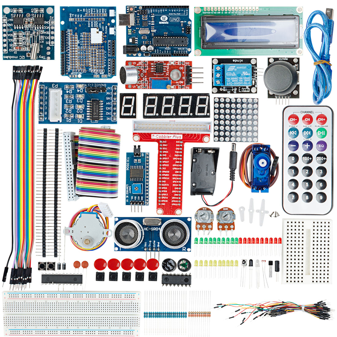 Uno R3 Board Project Basic Starter Kit For Arduino Diy Development Circuit Learning Set