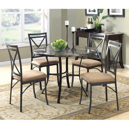 Better homes and gardens kitchen dining furniture - Better homes and gardens mercer dining table ...