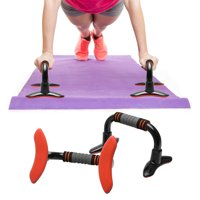 2PCS Push Up Bars Pushup Chest Bar Stand Sports Gym Exercise Workout Training Trainer for Men and Women