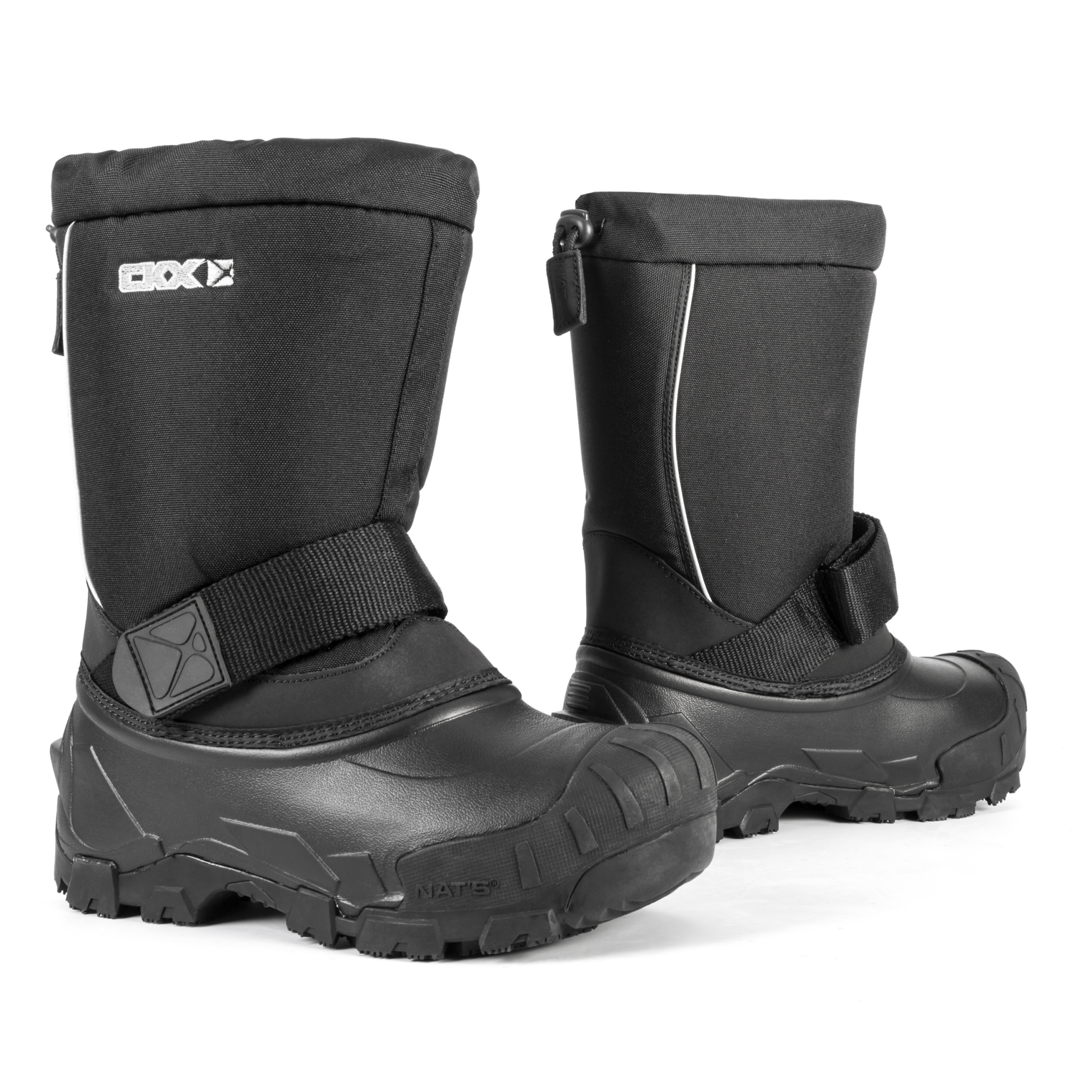 CKX Yukon Boots Men, Women - Snowmobile Black 7 #033080
