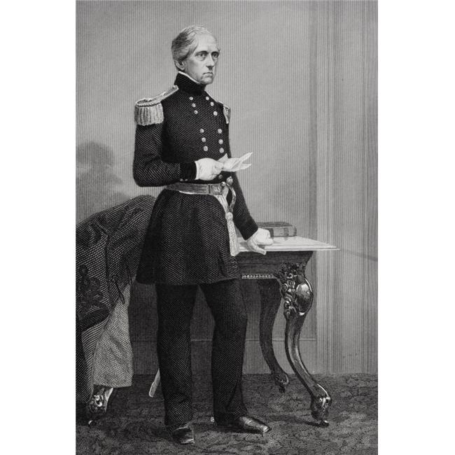 Posterazzi DPI1857744LARGE John Ellis Wool 1784-1869 Union General Who Served America In Three Wars From Painting by Alonzo Chappel Poster Print, Large - 22 x 34 - image 1 of 1