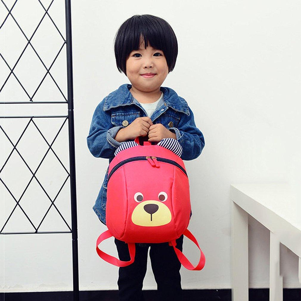 Lovely Cute Children Kids Anti-Lost Bag Kindergarten Toddler Backpack Bag by