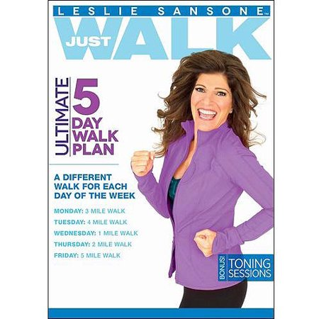 Leslie Sansone: Ultimate 5 Day Walk Plan (Widescreen)