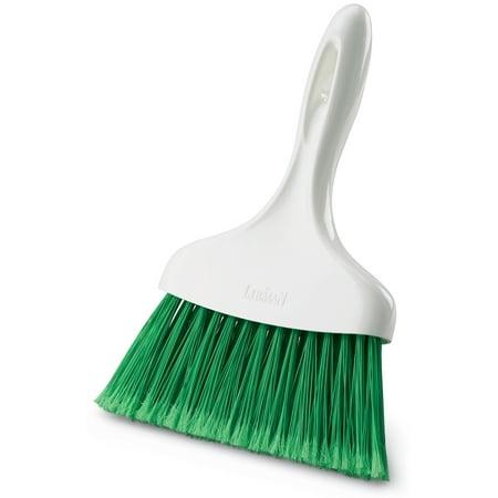 Libman Whisk Broom, White & Green (Libman Long Handle)