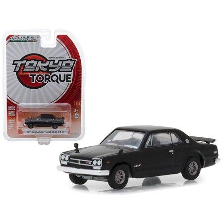 1971 Nissan Skyline 2000 GT-R Black