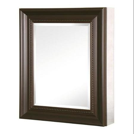 Deco 24 In Framed Medicine Cabinet Sp4600 Oil Rubbed Bronze