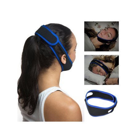 Anti Snore Stop Snoring Sleep Apnea Strap Belt Jaw Solution Chin -