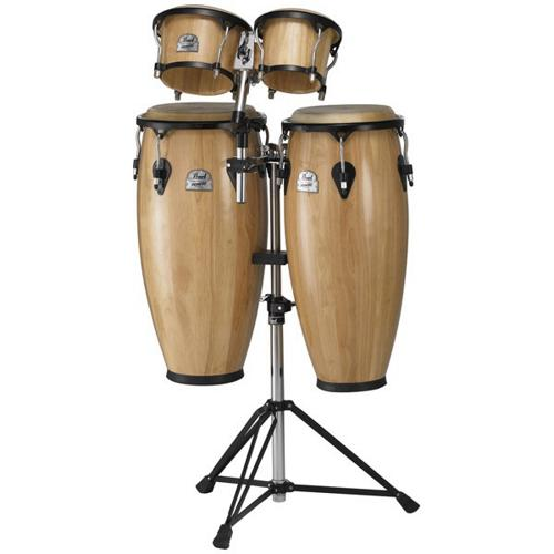 Pearl Primero Series Conga Package with Free Bongos