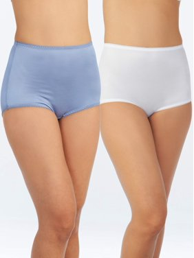 Women's Undershapers Light Control Briefs, 2 Pack, Style 40201