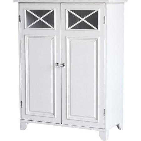Prairie Double Door Floor Cabinet, White ()