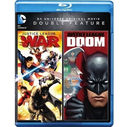 Justice League Double Feature: War / Doom (Blu-ray) WARBR596814