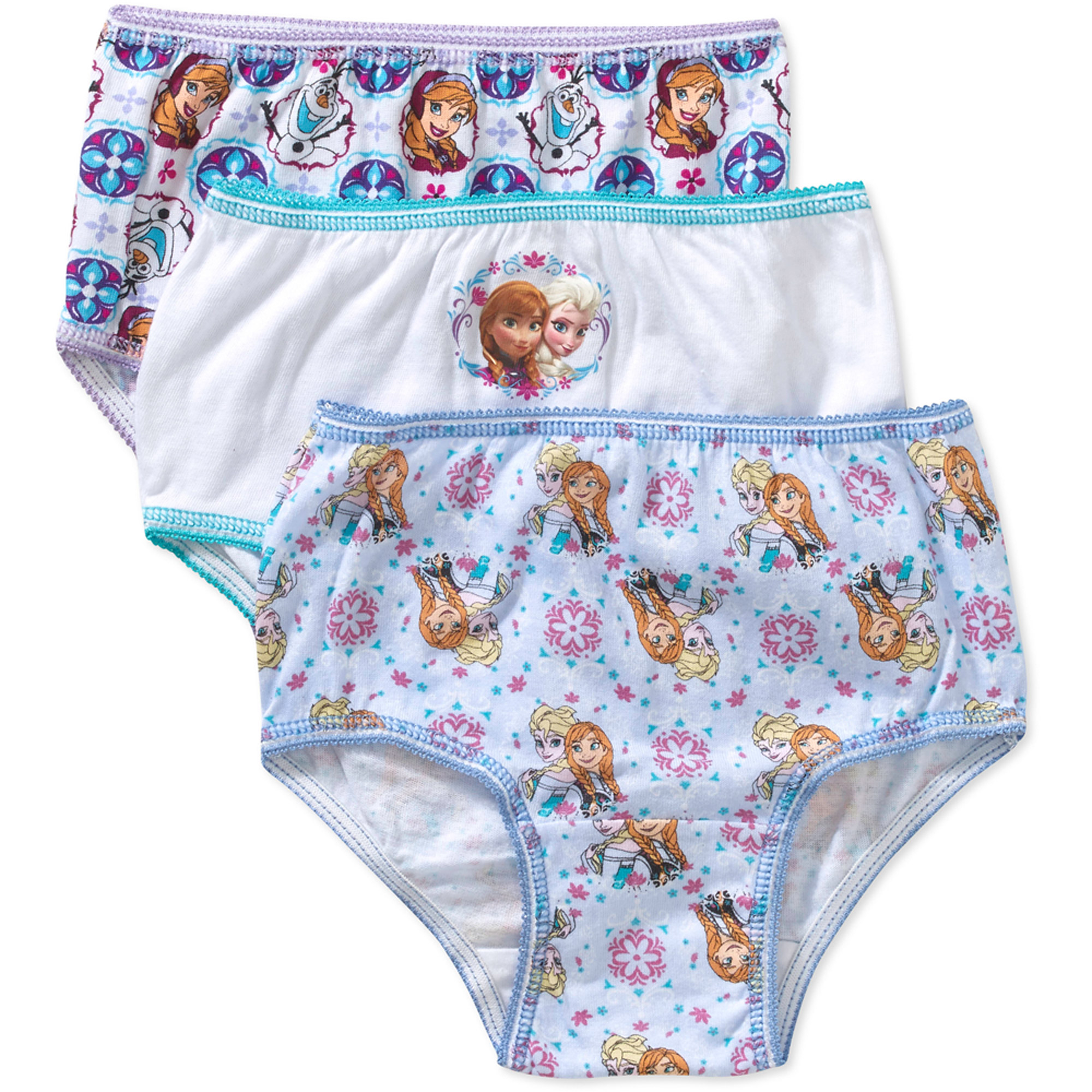 Frozen Toddler Girls Underwear, 3 Pack
