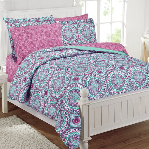 Thalia 11pc Bed in a bag with extra sheet set Full