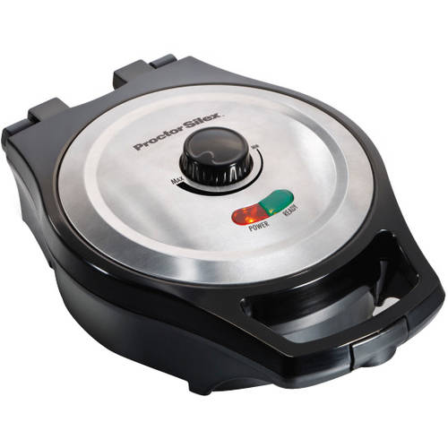 Proctor Silex Mess-Free Belgian-Style Waffle Maker, 26044A
