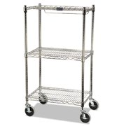 Rubbermaid - Mobile rack - food storage container - chrome