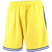 Golden State Warriors Mitchell & Ness Hardwood Classics Swingman Shorts - Gold