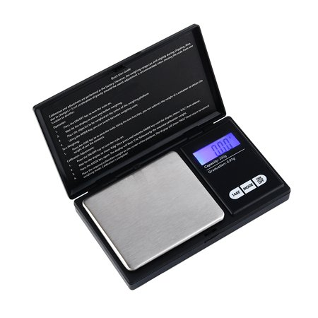 Digital Milligram Scale 200 x 0.01g,Mini Electronic Digital Scale Weight Balance LCD Jewelry Gram Weight Scale Pocket Scale Balance Beam Scale Models