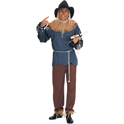 Scarecrow Adult Halloween Costume Size Mens One Size