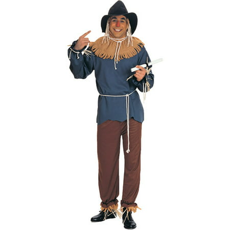 Scarecrow Adult Halloween Costume, Size: Men's - One Size (Scary Scarecrow Costume)