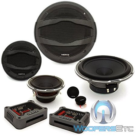 Hertz Mpk 163 3 300W Max 4 Ohm 6 5  3 Way Car Audio Speaker Component System