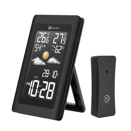 Wireless Hd Usb Outdoor Weather Station Hygrometer Thermometer Forecast Sensor Clock