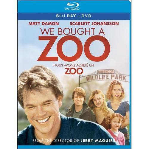 We Bought A Zoo (Blu-ray + DVD) (With INSTAWATCH) (Widescreen)