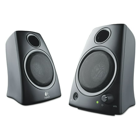 Logitech Z130 Compact 2.0 Stereo Speakers, 3.5mm Jack,