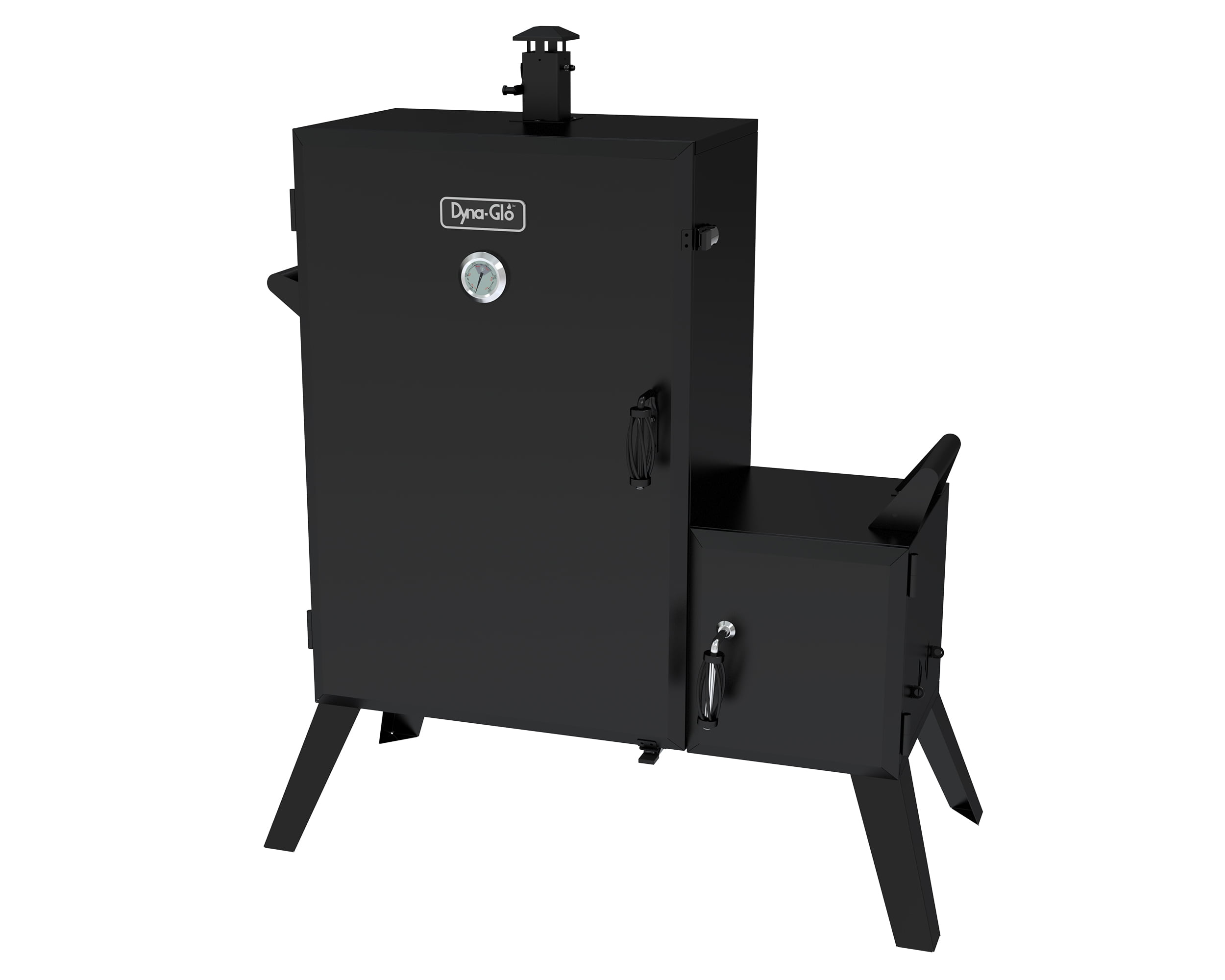 Dyna-Glo DGO1890BDC-D Wide Body Vertical Offset Charcoal Smoker by GHP Group, Inc.