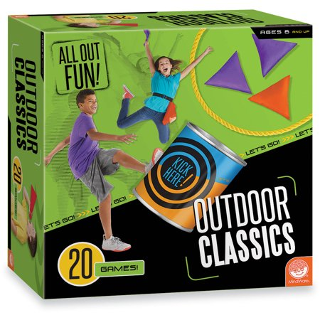 All Out Fun! Outdoor Classics, 20 Games