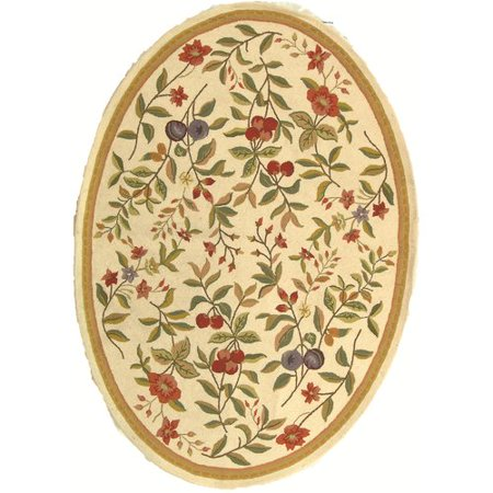 August Grove Isabella Ivory Sage Orchard Area Rug