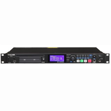 Tascam Ss Cdr200 Solid State Cd Mp3 Wav Media Stereo Audio Recorder W  Playback