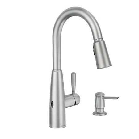 Moen Sperry MotionSense Wave Spot Resist Stainless One-Handle Pulldown Kitchen Faucet
