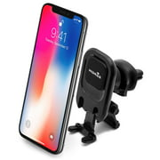 Widras Magnetic Air Vent  Car Mount 2nd Generation Cell Phone Holder for Smartphone Universal Cradle w/ Holding Feet iPhone X 8 7 6 6s Plus /Samsung Galaxy S7 Edge/ S6 Edge / Note / Nexus/ GPS