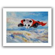 ArtWall 'Panda Superhero' by Michael Creese Painting Print on Canvas