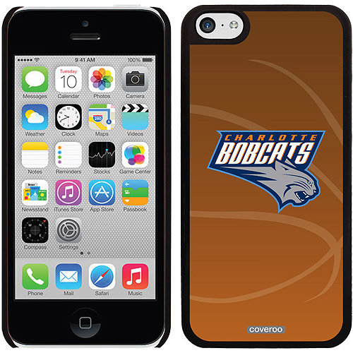 Charlotte Bobcats Basketball Design on iPhone 5c Thinshield Snap-On Case by Coveroo