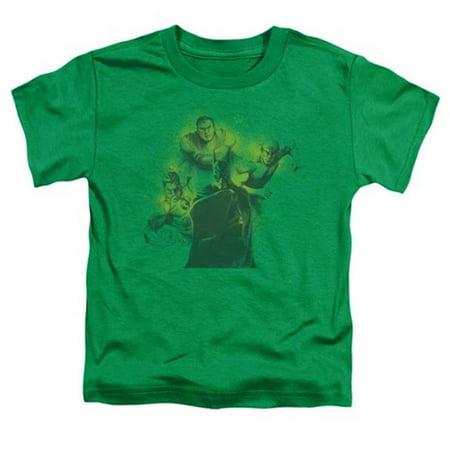 Dco-Spray Sketch League - Short Sleeve Toddler Tee - Kelly Green, Large 4T - image 1 de 1