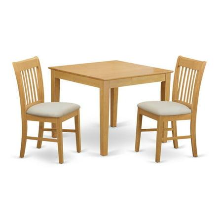 East West Furniture 3 Piece Slat Back Breakfast Nook Dining Table Set Breakfast Nook 3 Piece Table