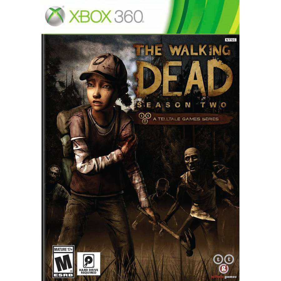 The Walking Dead Season 2 (Xbox 360) Telltale Games, 894515001405