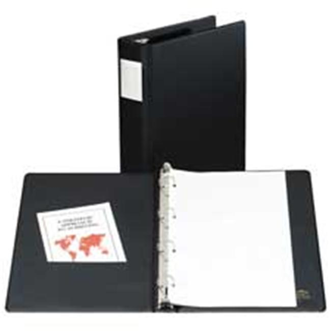 Avery Consumer Products Ave06100 Round Ring Binder 4 1in Capacity 14in X8 50in Black