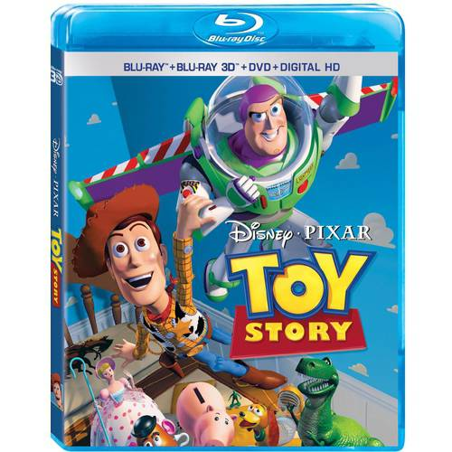 Toy Story (Blu-ray + Blu-ray 3D + DVD + Digital HD) ()