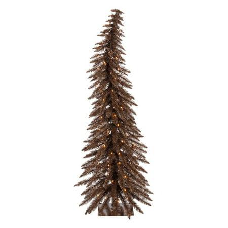 Vickerman Mocha Whimsical Christmas Tree - Whimsical Trees