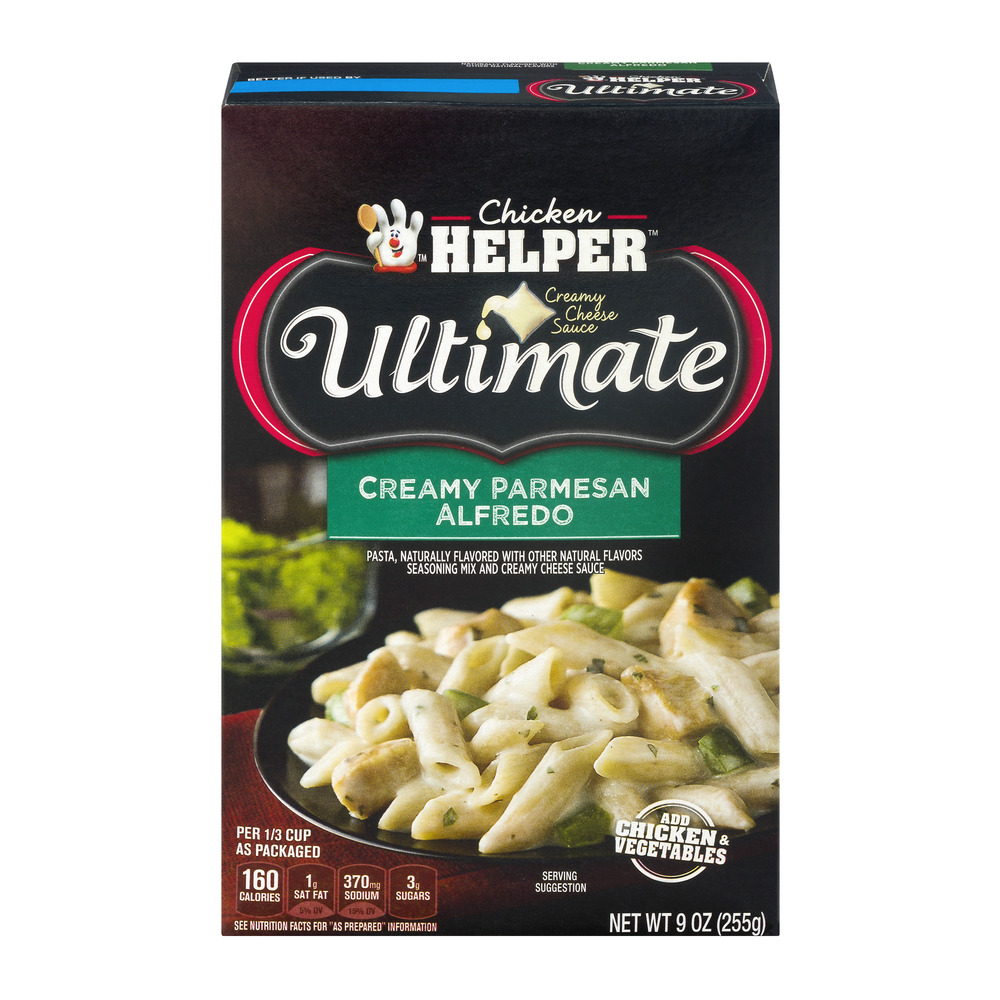 Betty Crocker Ultimate Creamy Parmesan Alfredo 9 oz Box