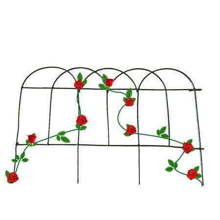 Mr.Garden Garden Trellis Plant Fence for Climbing Plants Potted Vines 15.7