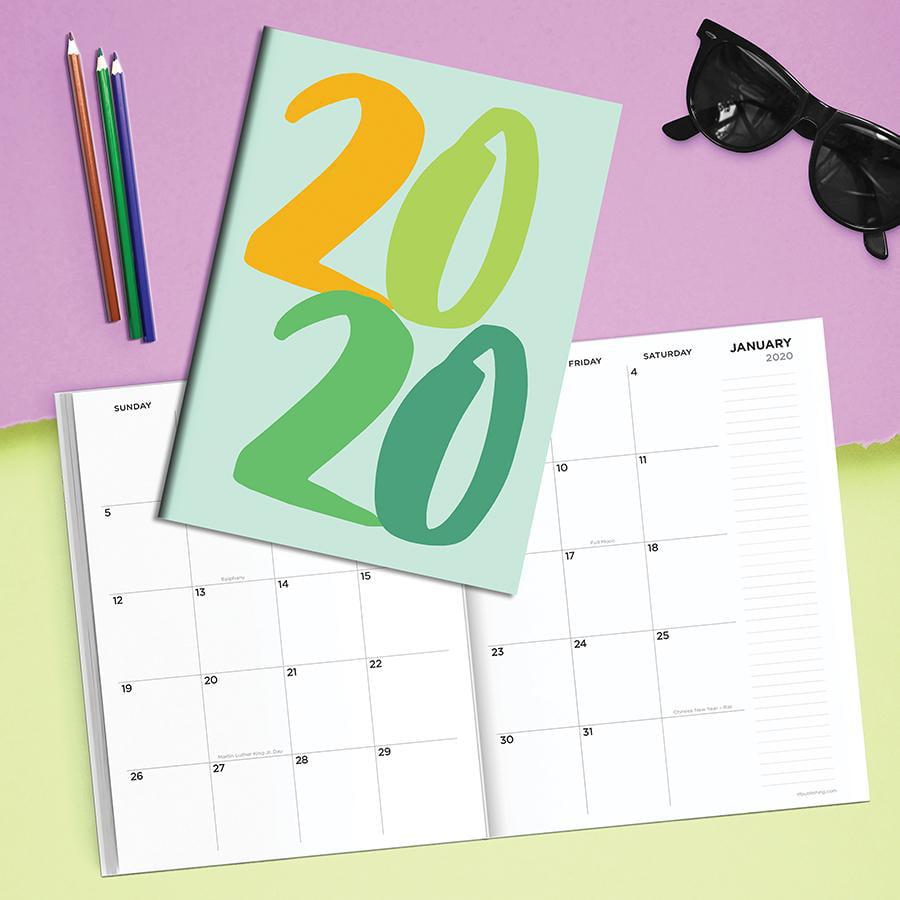 2020 Big Year Medium Monthly Planner