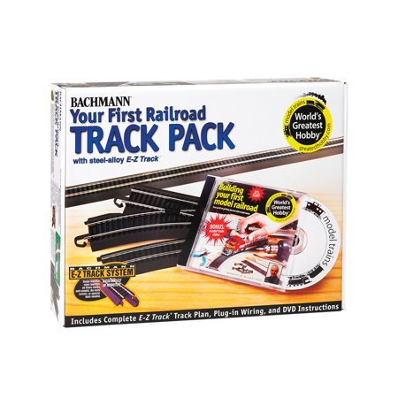 Bachmann Trains HO Scale E-Z Track Deluxe Expander Track Pack