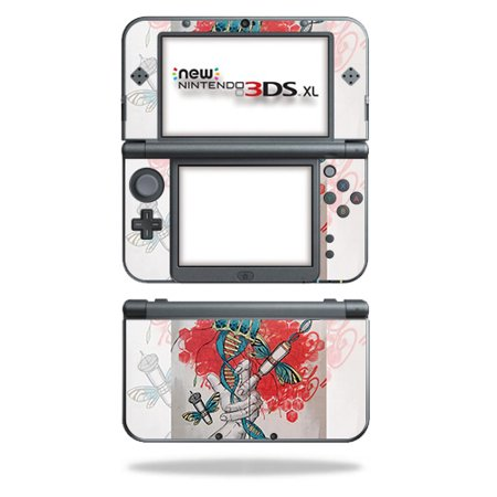 Skin For Nintendo New 3DS XL (2015) - Red Grasp | MightySkins Protective, Durable, and Unique Vinyl Decal wrap cover | Easy To Apply, Remove, and Change Styles ()