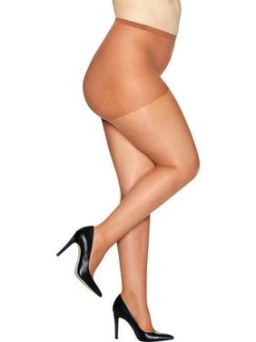 01dc79b183f9b Womens Plus Hosiery & Tights - Walmart.com