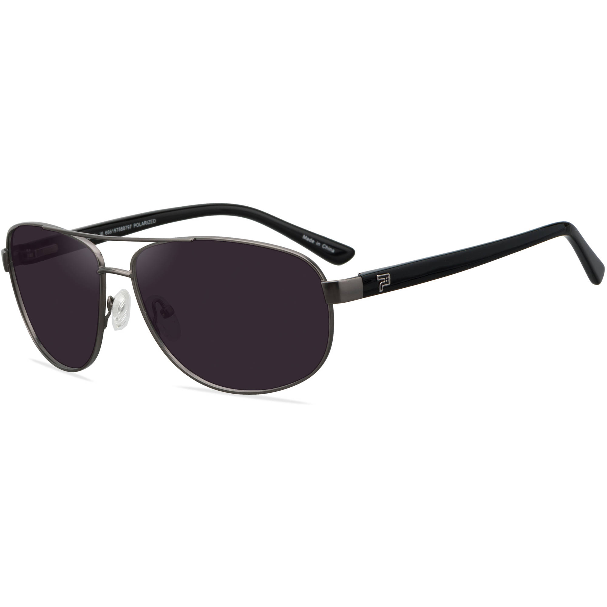 PRX Mens Prescription Sunglasses, Captain III Mat. Gun/Blk - Walmart.com at Walmart - Vision Center in Connersville, IN | Tuggl