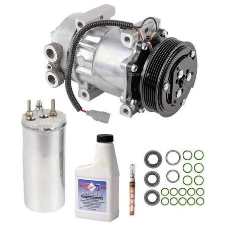 AC Compressor w/ A/C Repair Kit For Dodge Dakota 2 5L 2000 2001