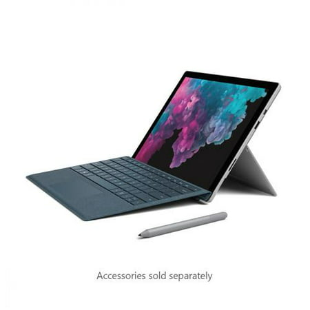 "Microsoft Surface Pro 6 12.3"" Intel Core i5 8GB RAM 128GB SSD (Latest Model) Platinum - 8th Generation - Quad-core - 6MB SmartCache - microSD Memory Card Supported - LPDDR3 1866 MHz - PixelSens"